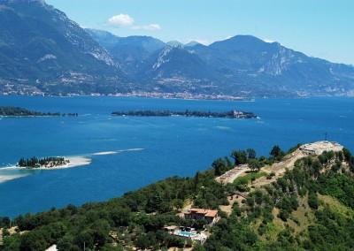 Navigare sul Lago di Garda Rocca di Manerba